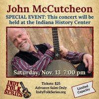 John McCutcheon at the Indiana History Center