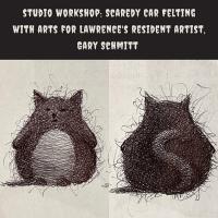 Studio Workshop: Scaredy Cat Felting Class