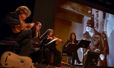 Hesperus combines Legend of Zorro with early music to delight audiences at summer festival