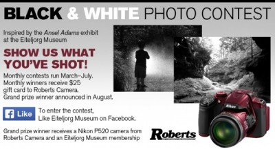 """Black and White"" Photo Contest"