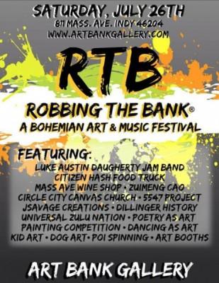 """ROBBING THE BANK"", @ THE ART BANK"