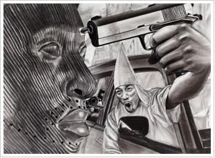 "James Pate's ""Kin Killin' Kin"" Art Exhibit"