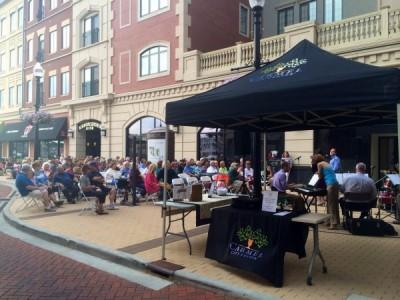 Sidewalk Concert at Carmel City Center