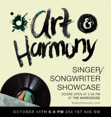 Art & Harmony: Singer/Songwriter Showcase
