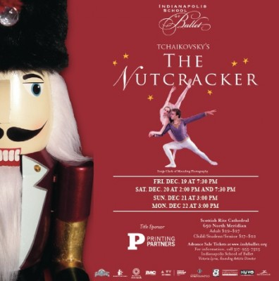 The Nutcracker Presented by The Indianapolis School of Ballet and Printing Partners