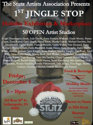 Stutz Artists Association Holiday Exhibition and Open Studios