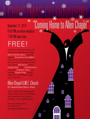Coming Home to Allen Chapel: A Christmas Celebration!