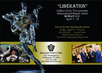 Artist's Reception:LIBERATION