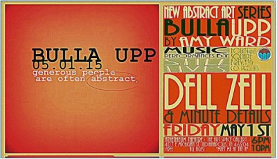 'Bulla Upp' Solo Exhibition by Amy Ward