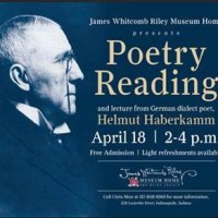 HELMUT HABERKAMM Talk on and Reading of Dialect Poetry