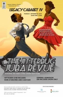 Legacy Cabaret IV featuring The Jitterbug Juba Revue