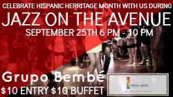 Jazz on the Avenue w/ Grupo Bembe