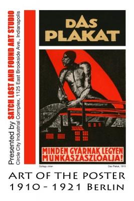 Das Plakat:  Art of the Poster, 1910 - 1921, Berlin