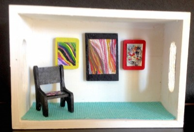 Make Your Own Mini Art Gallery Workshop