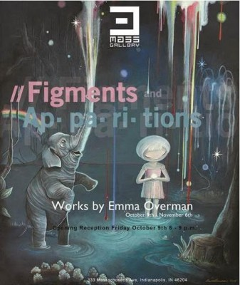 Figments and Apparitions: A solo show