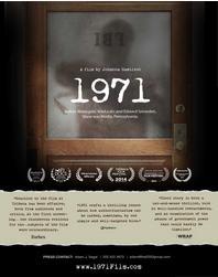 Spirit & Place 2015: 1971 - Paranoia, Surveillance & the American Dream