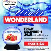 Winter Wonderland Holiday Cabaret