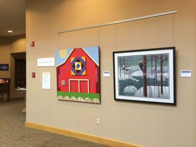 Conner Prairie Art Exhibit