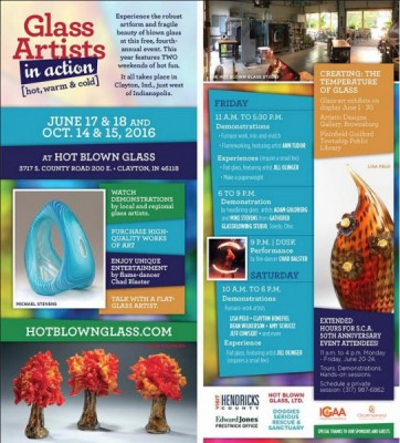 Glass Artists in Action 2016