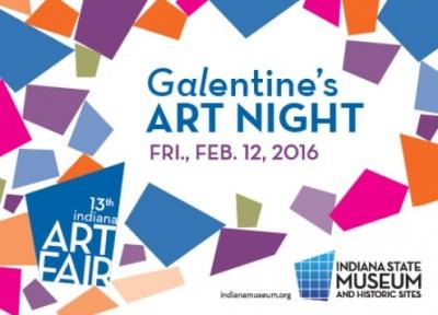 13th Annual Indiana Art Fair: Galentine's Night