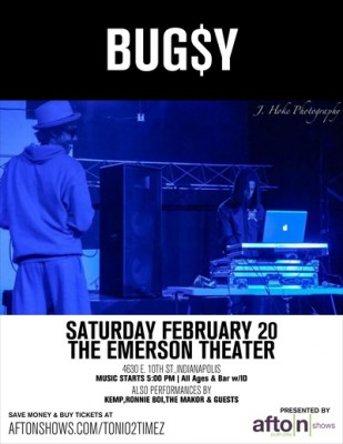 Bug$y & DJ STK @ The Emerson Theater