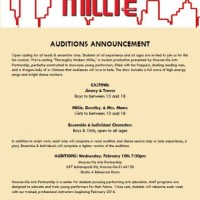 Casting : Thoroughly Modern Millie