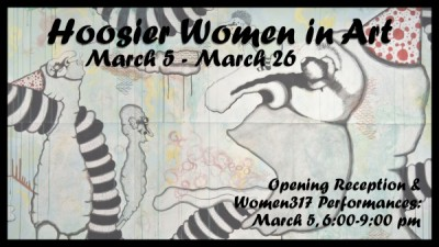 Hoosier Women in Art Exhibition