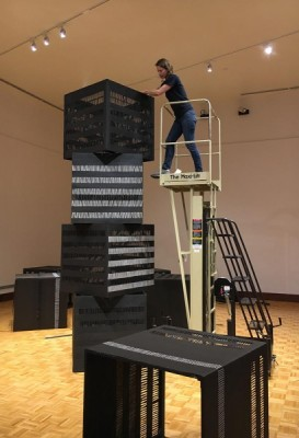Continuum: A Collaborative Installation by Jennifer Crain and Rachel Hellmann