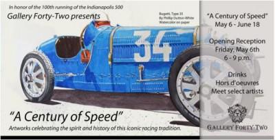 A Century of Speed: Automotive Art Show