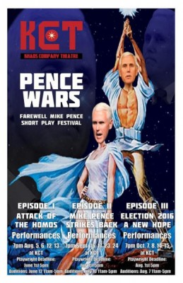 Pence Wars, Episode I: Attack of the Homos