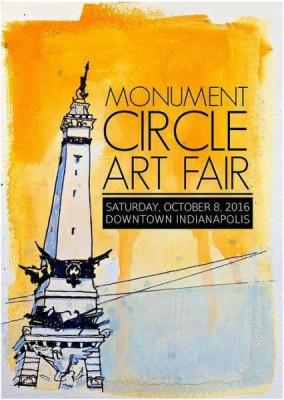 Monument Circle Art Fair 2016