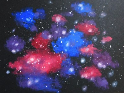 Arts for All - Galaxy Paintings