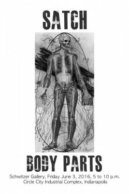Body Parts - An Installation of New Art Work by Satch