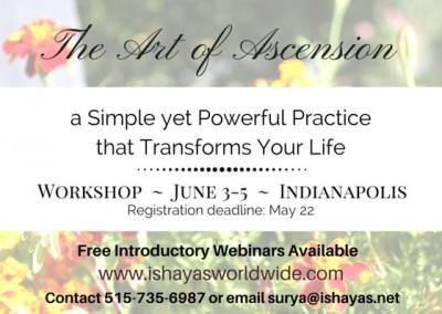 The Art of Ascension - Meditation Workshop
