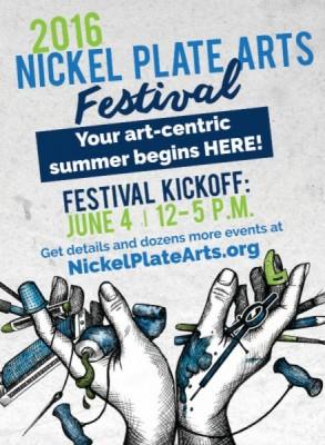 Nickel Plate Arts Festival Kickoff