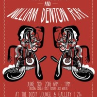 First Friday: William Denton Ray & Mary Lessing
