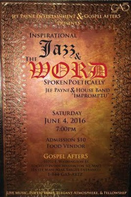 Inspirational Jazz & the WORD Spoken Poetically