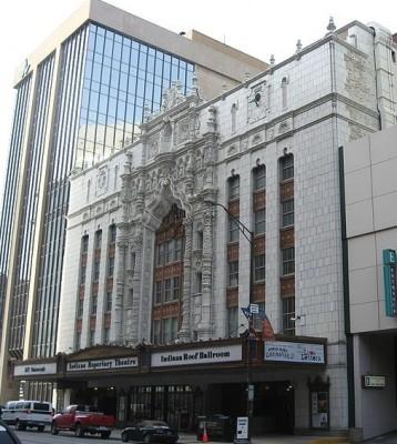 Indiana Repertory Theatre Facade