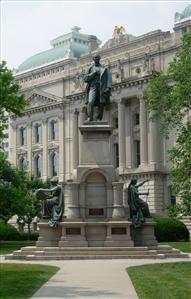 Thomas A. Hendricks Memorial