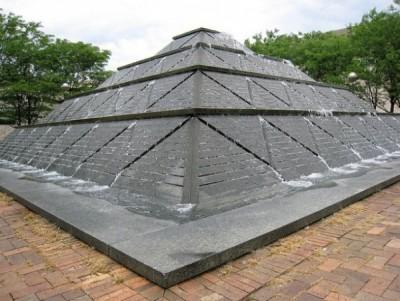 Wood Plaza Fountain