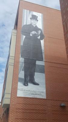 James Whitcomb Riley Mural