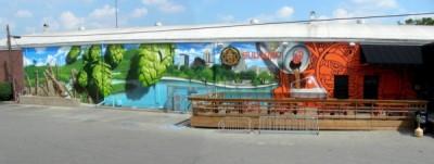 Sun King mural