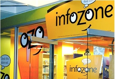 InfoZone(at the Children's Museum)